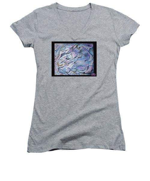 The Take  Over Women's V-Neck T-Shirt