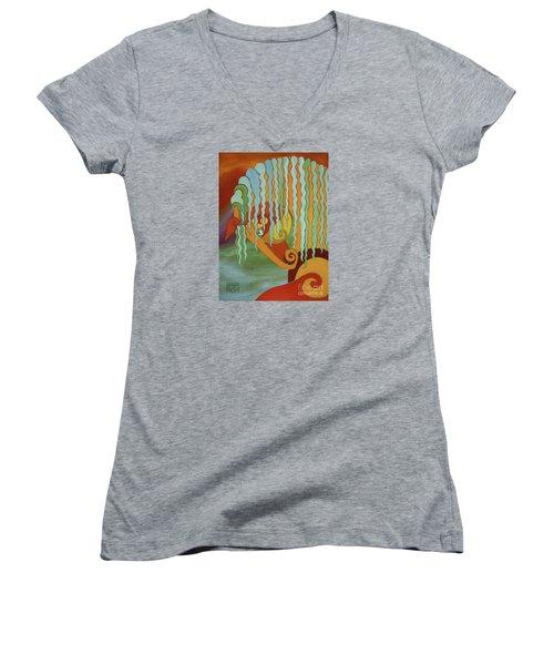 The Tao Of Intensity Women's V-Neck T-Shirt