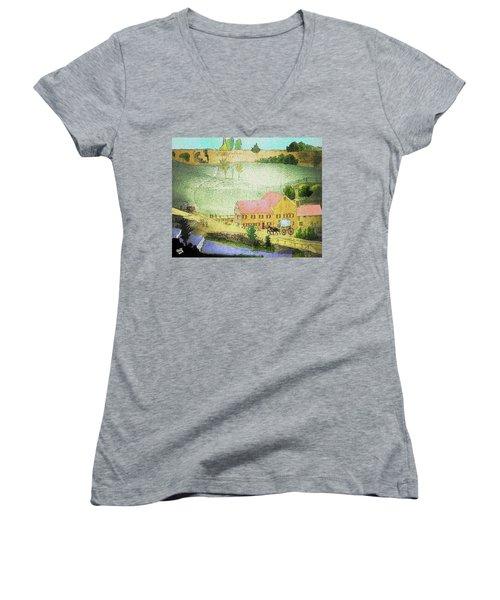 The Tavern Women's V-Neck T-Shirt