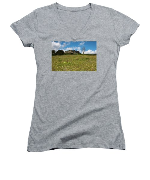 The Three Finger Mountain Women's V-Neck