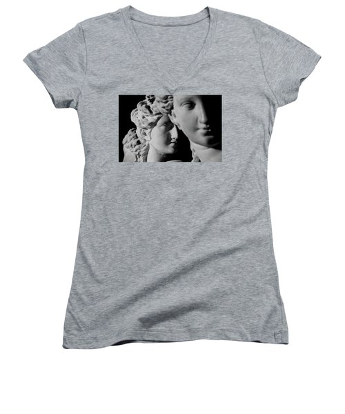 The Three Graces Women's V-Neck T-Shirt (Junior Cut)