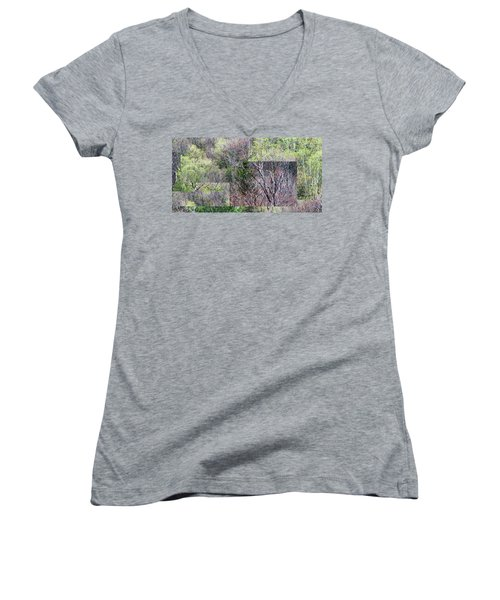 The Transition - Women's V-Neck (Athletic Fit)