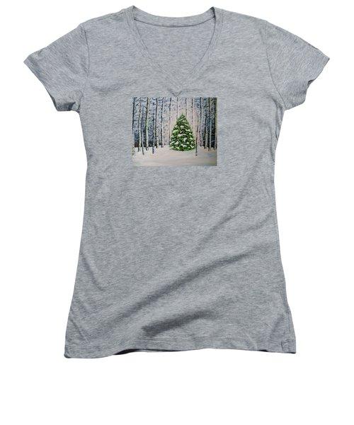 The Tree Women's V-Neck T-Shirt
