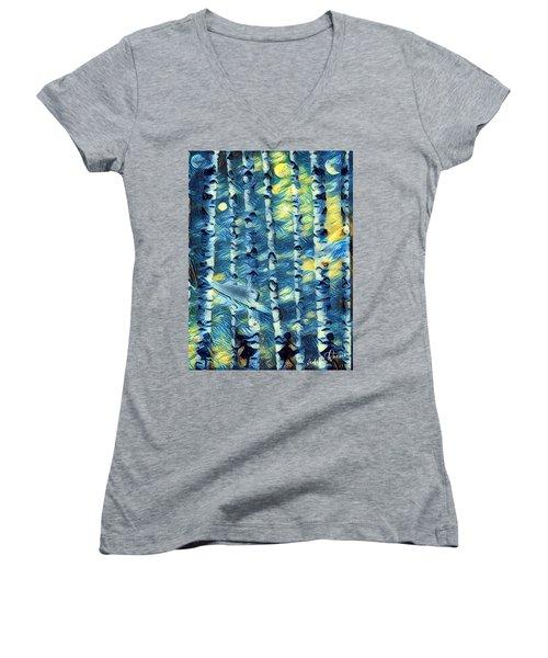 The Tree Children Women's V-Neck T-Shirt