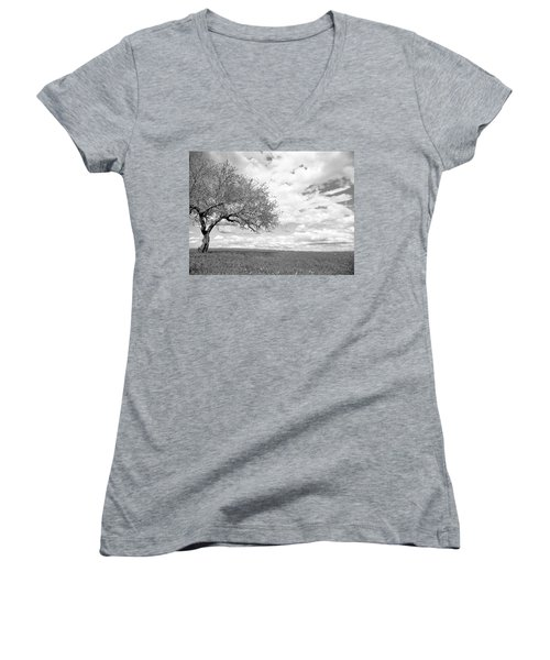 The Tree On The Hill Women's V-Neck