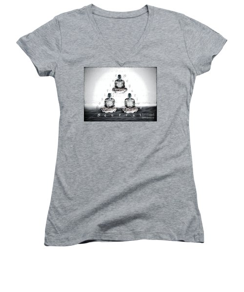 The Triangle Of Decision Women's V-Neck T-Shirt