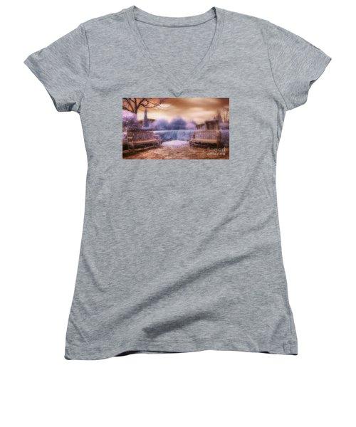 The Unseen Light Women's V-Neck T-Shirt