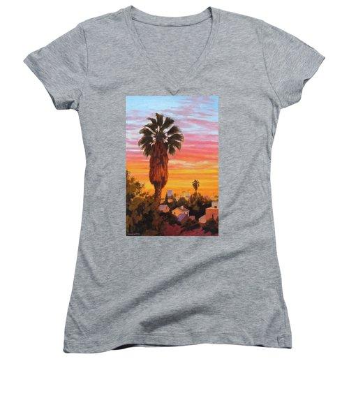 The Urban Jungle Women's V-Neck T-Shirt