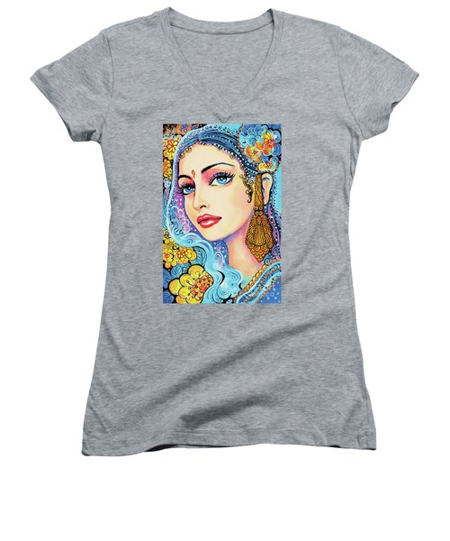 The Veil Of Aish Women's V-Neck