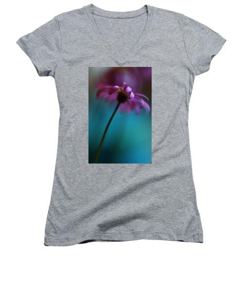 The View Above Women's V-Neck T-Shirt (Junior Cut) by Kym Clarke