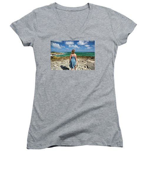 The View Women's V-Neck