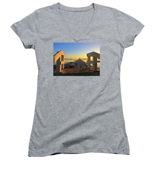 The Walkway Women's V-Neck