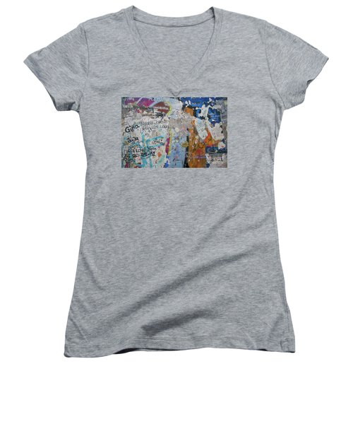 The Wall #10 Women's V-Neck