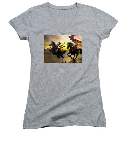The Warlords Women's V-Neck