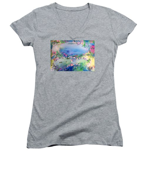 The Warmth Of August Women's V-Neck T-Shirt