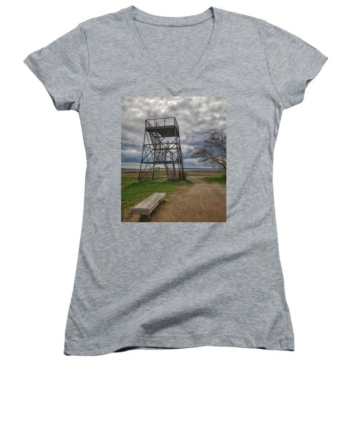 The Watchtower  Women's V-Neck