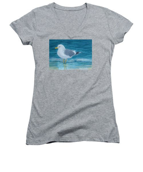 The Water's Cold Women's V-Neck