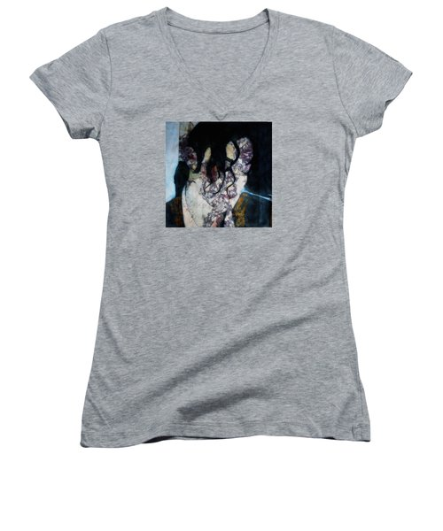 The Way You Make Me Feel Women's V-Neck T-Shirt (Junior Cut) by Paul Lovering