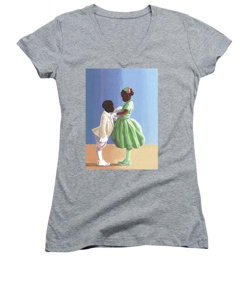 The Wedding Women's V-Neck T-Shirt