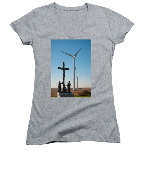 The Wind Women's V-Neck