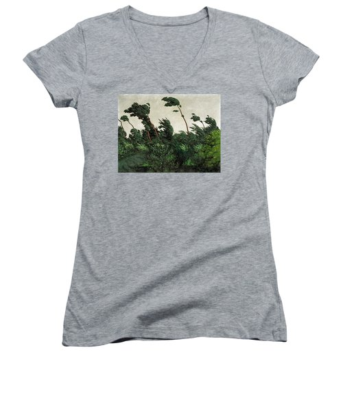 The Wind Women's V-Neck