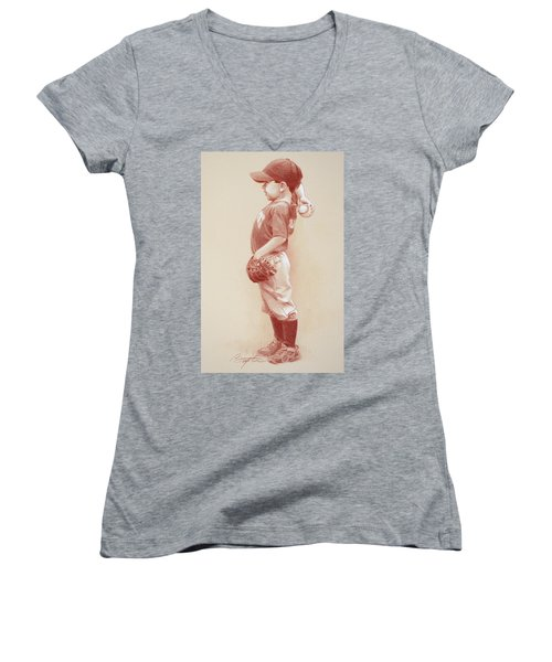 The Windup Women's V-Neck (Athletic Fit)