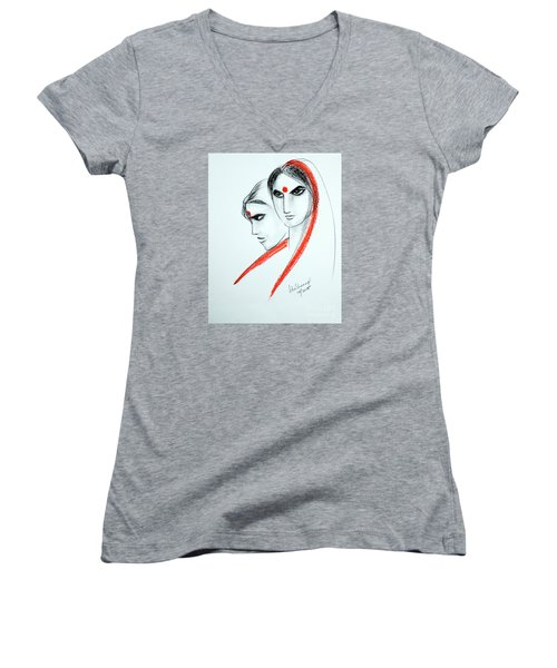 The Women Women's V-Neck