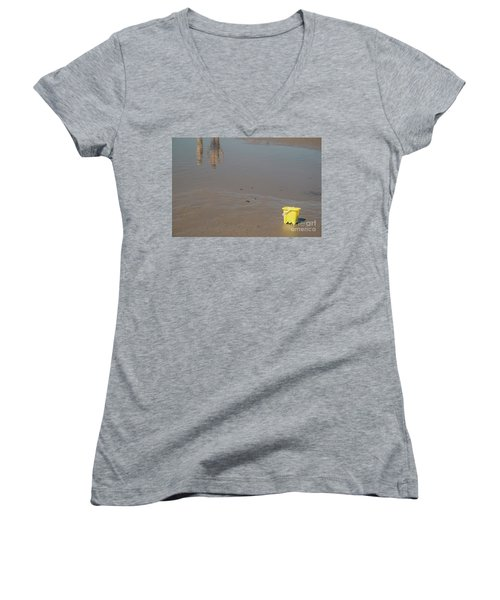 The Yellow Bucket Women's V-Neck