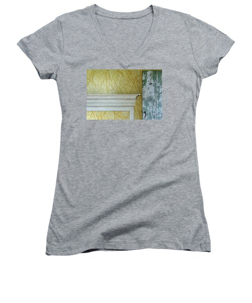 The Yellow Room No. 3 - Detail Women's V-Neck (Athletic Fit)