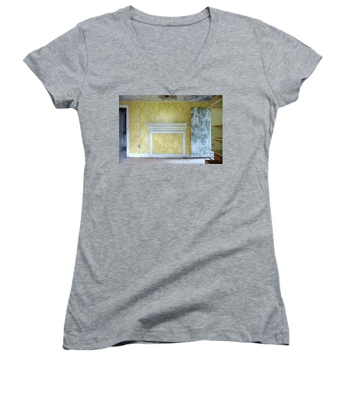 The Yellow Room No.3 Women's V-Neck (Athletic Fit)