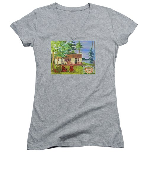 The Young's Camp Women's V-Neck T-Shirt