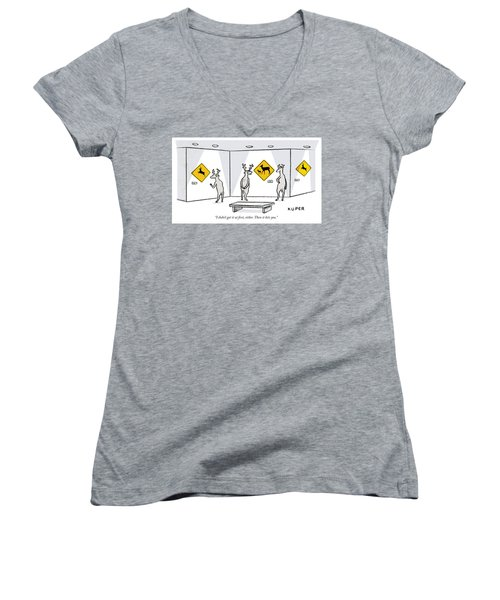 Then It Hits You Women's V-Neck