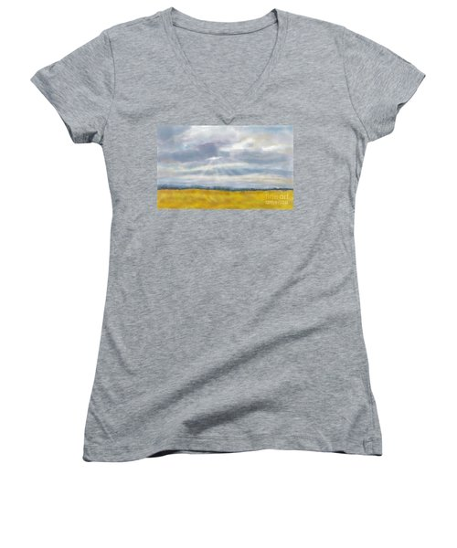 There's Always Hope Women's V-Neck T-Shirt