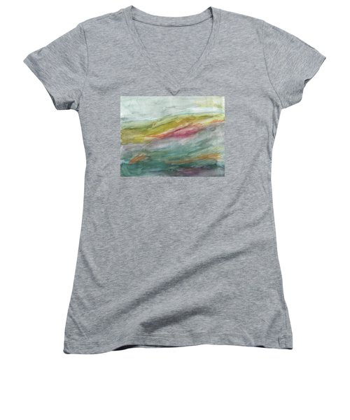 These Lonely Hills Women's V-Neck T-Shirt