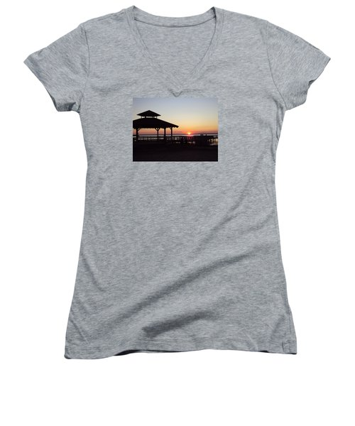 This Is New Jersey Women's V-Neck (Athletic Fit)