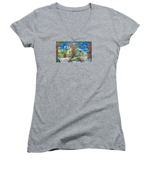 This Magical Land Women's V-Neck T-Shirt