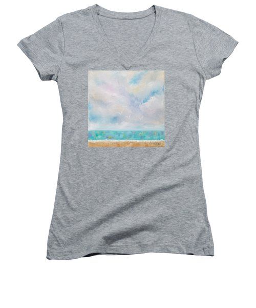 Three By The Sea Women's V-Neck (Athletic Fit)