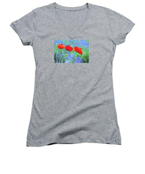 Three Sisters Women's V-Neck T-Shirt