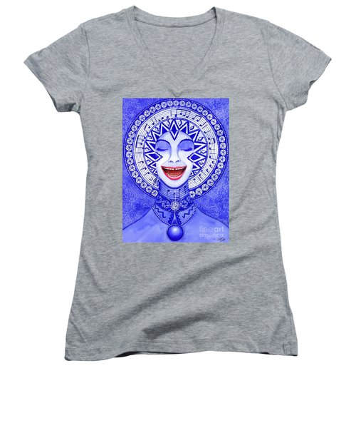 Throat Chakra Women's V-Neck T-Shirt