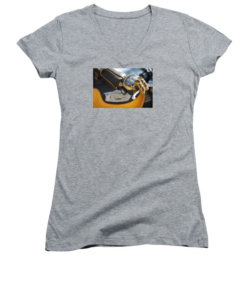 Throttle Hand Women's V-Neck