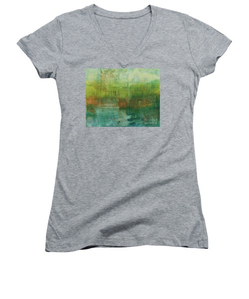 Through The Mist Women's V-Neck (Athletic Fit)