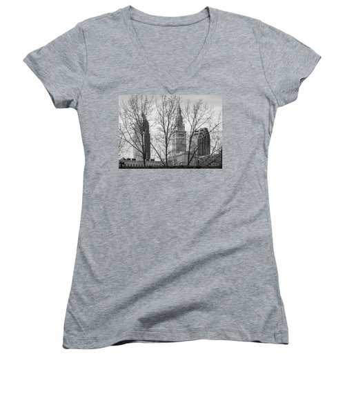 Through The Trees Women's V-Neck