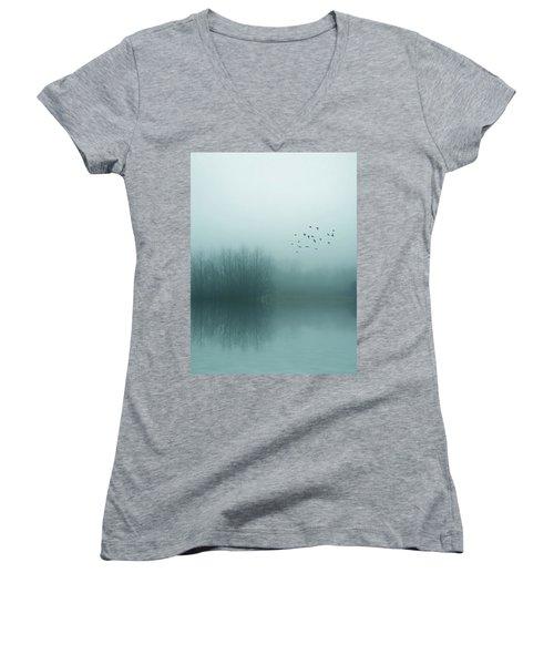 Through The Zero Hour Women's V-Neck T-Shirt