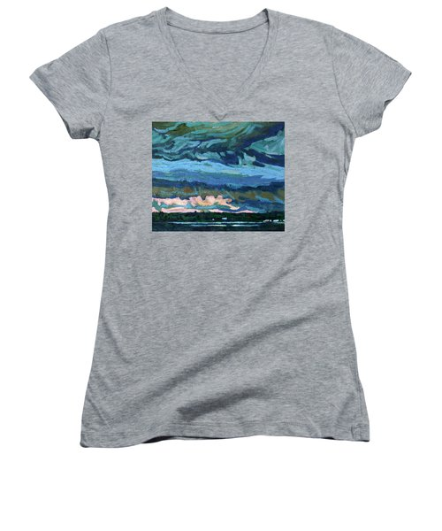 Thunder Cloud Women's V-Neck