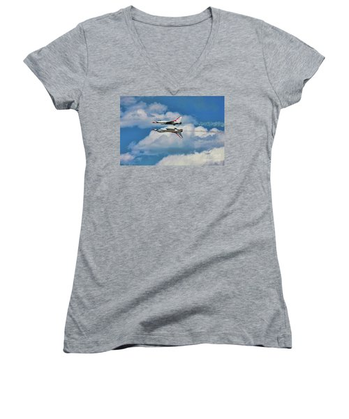 Thunderbirds Inverted Women's V-Neck