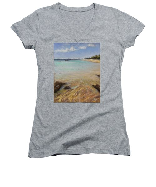 Tide's Retreat Women's V-Neck T-Shirt