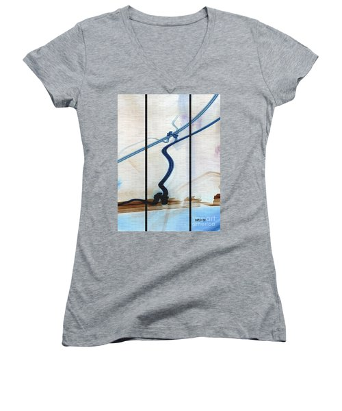 Tied The Knot Women's V-Neck T-Shirt