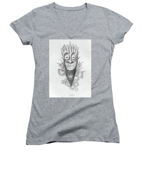 Tiki  Women's V-Neck