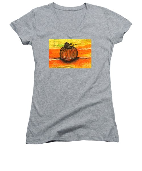 Time To Get Pumkin Women's V-Neck