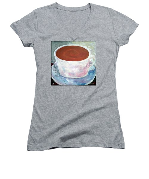 Time To Relax Women's V-Neck